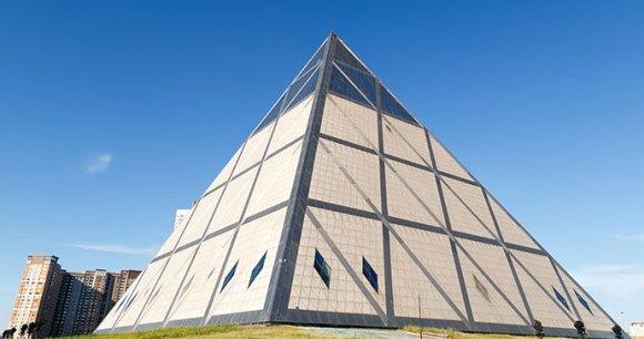 Palace of Peace and Reconciliation Pyramid Astana Kazakhstan By Maykova Galina Shutterstock