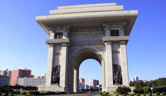 Arch of Triumph Pyongyang North Korea Lukiyanova Natalia frenta Shutterstock