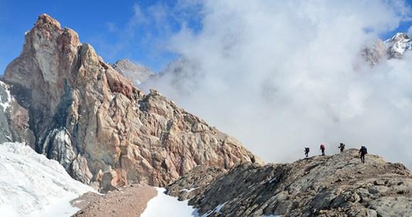 Hiking in the Fann Mountains Tajikistan by Tetiana Perevalo Shutterstock