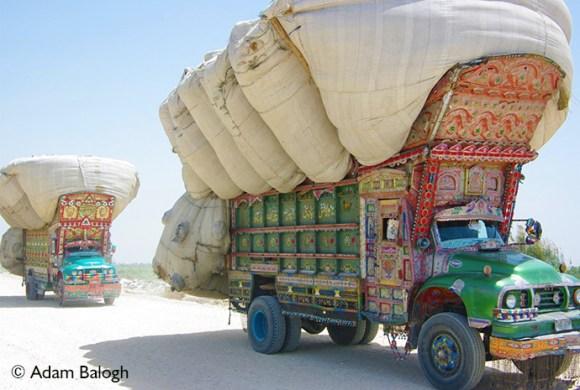 Trucks Thatta Kirachi Pakistan by Adam Balogh