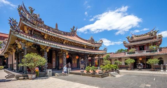 Baoan Temple Taipei Taiwan by Richie Chan Shutterstock