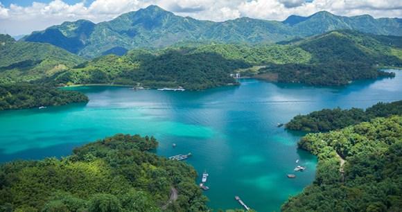 Sun Moon Lake Taiwan by Richie Chan Shutterstock