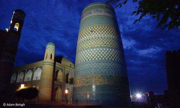 Kalta Minor in Khiva, Uzbekistan by Adam Balogh