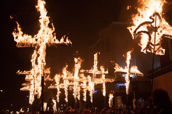 Bonfire night Lewes UK Sussex by koranm