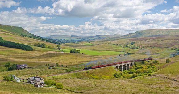 The Settle & Carlisle Line England UK by David Horner