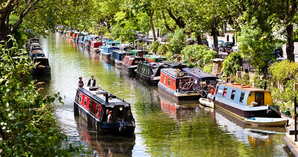 Regents Canal Britain by Will Rodrigues Shutterstock