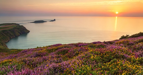 Rhossili Bay Britain by Billy Stock Shutterstock