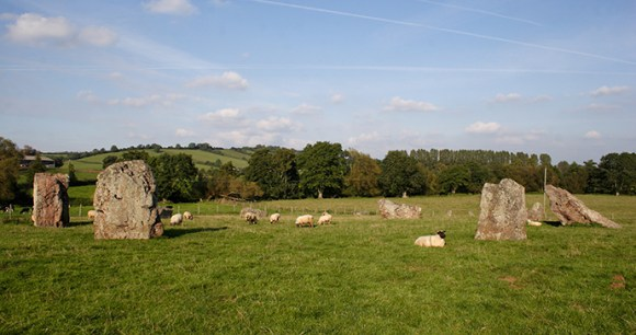 Stanton Drew Stone Circle Somerset by Mark Eastment Shutterstock