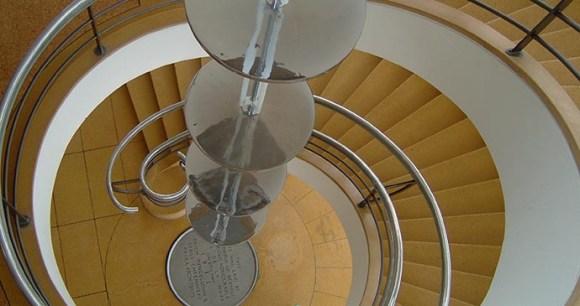 Staircase, De La Warr Pavillion, Bexhill, Sussex, England by Tim Locke