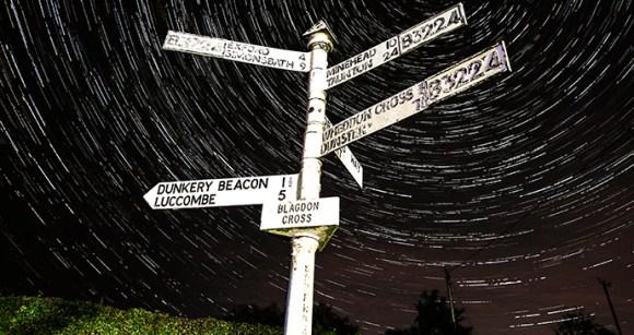 Stargazing Blagdon Cross Exmoor by Exmoor National Park