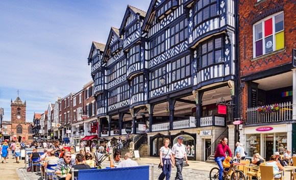 The Rows, Chester Cheshire England UK by travellight