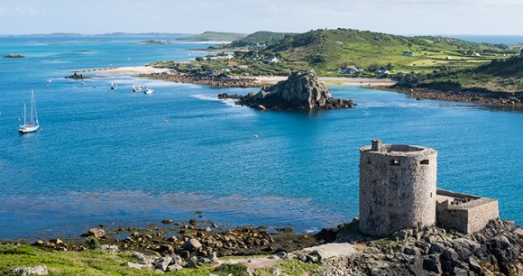 Cromwell's Castle Tresco & Bryher Isles of Scilly by Neil Duggan Shutterstock