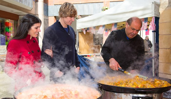 Exeter Street Food Market East Devon UK Tony Cobley