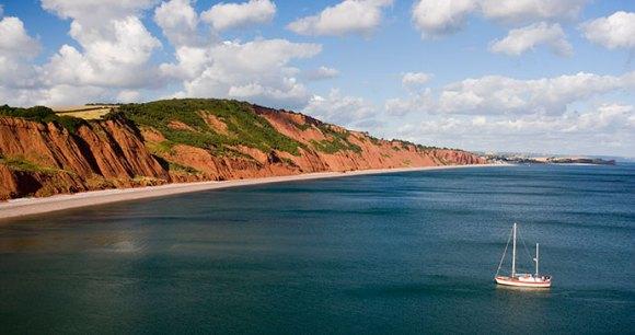 Jurassic Coast East Devon Dorset England Britain by Tony Howell, Heart of Devon Images