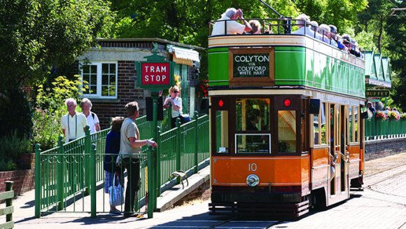 Seaton Tramway East Devon UK by Heart of Devon Images