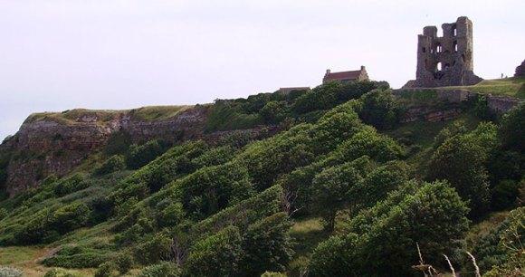 Scarborough Castle. Scarborough, Yorkshire, Immanuel Giel, Wikimedia-Commons