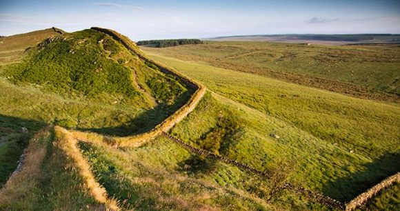 Hadrian's Wall, Northumberland, UK by duchy, Shutterstock