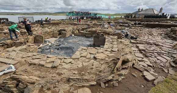 Ness of Brodgar Neolithic Orkney by Orkney.com