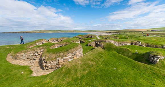 Skara Brae the Mainland Orkney Scotland by Kenny Lam, VisitScotland