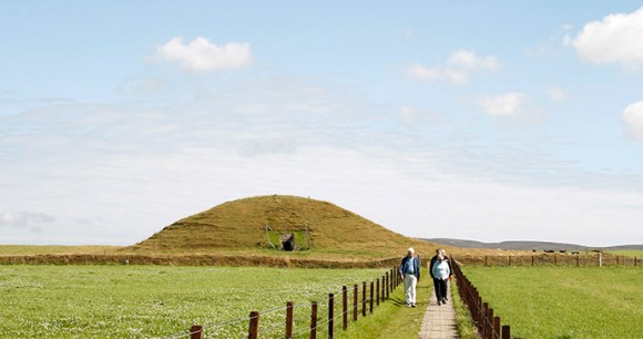 Maeshowe chambered cairn the Mainland Orkney by Kenny Lam, VisitScotland