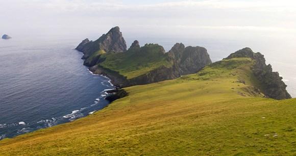 St Kilda Outer Hebrides Scotland UK by Corlaffra, Shutterstock