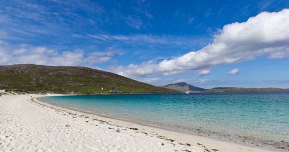Vatersay Beach Barra Outer Hebrides Scotland by Luca Quadrio, Dreamstime