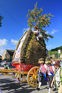 Rushcart Festival, the Peak District, British Isles by Craig Hanna
