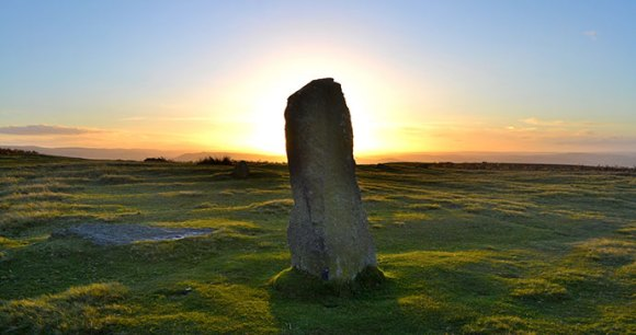 Mitchell's Fold stone circle Shropshire UK by Aaron Hyslop, Shutterstock