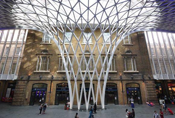 King's Cross Station London UK by Ron Ellis Shutterstock
