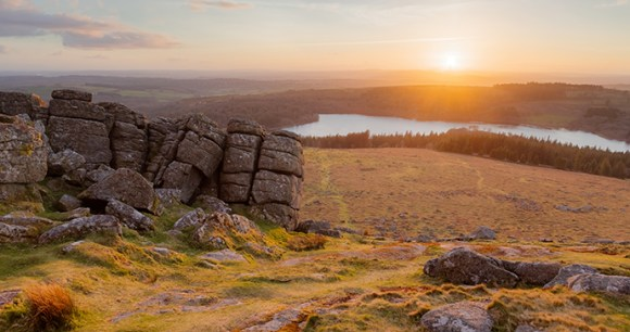 Sheeps Tor, Small Hills by Neil Porter