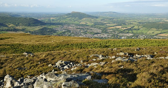 Blorenge, Monmouthshire, Small Hills by Whiskybottle, Dreamstime