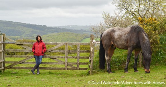 Jini and horse by David Wakefield, Adventures with Horses