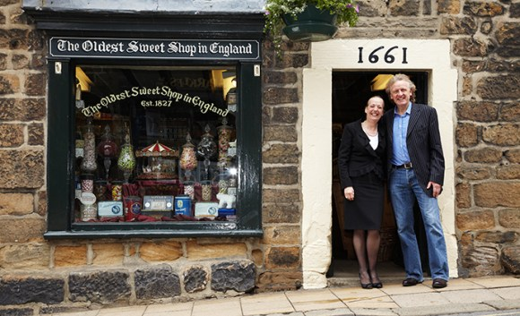 The Oldest Sweet Shop in England Pateley Bridge Yorkshire Dales by Nidderdale Chamber of Trade/Kirsty Shepherd