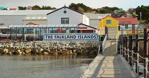 Jetty, Stanley, Falkland Islands by JeremyRichards, Shutterstock