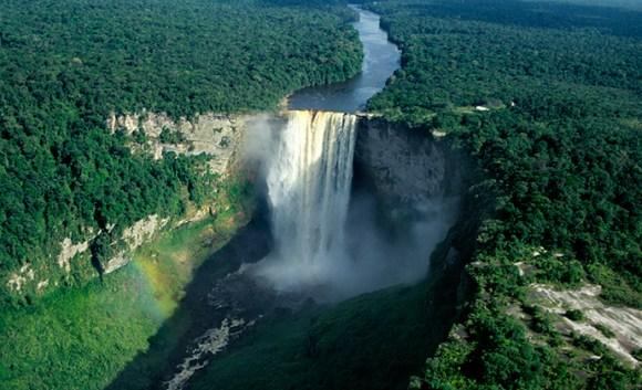 Kaieteur Falls Guyana by Fotonatura, Guyana Tourism Authority