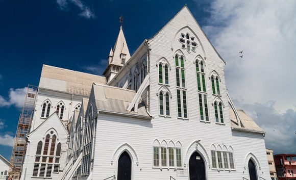 St George's Cathedral, Georgetown Guyana by Matyas Rehak, Shutterstock