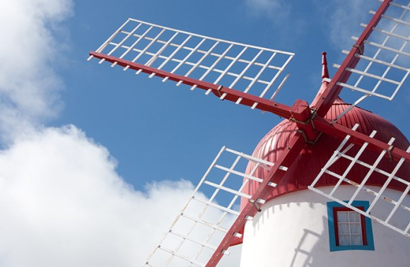 Sao Miguel windmill Graciosa Azores by Turismo Açores