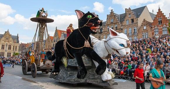 Cat Parade Flanders Belgium by Maxim Mayorov, Shutterstock