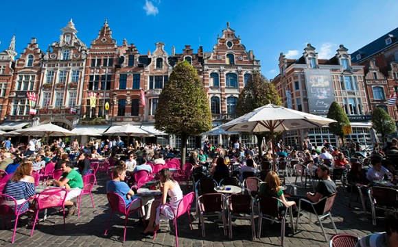 Oude Markt Leuven Belgium by Toerisme Leuven VisitFlanders