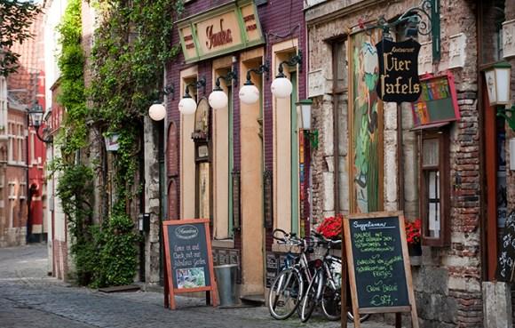 Patershol Ghent Flanders Belgium by Stad Gent, VisitFlanders