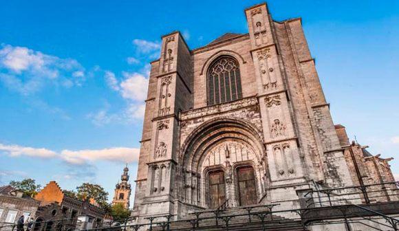 Collegiate Church of St Waudru Mons Belgium by Visitmons/Gregory Mathelot