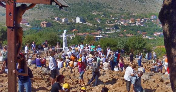 Pilgrimage site, Međugorje, Bosnia by Tourism Association of Bosnia and Herzegovina