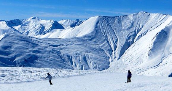 Skiing Georgia Borjomi by Maria Oleynik
