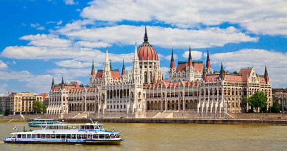 Parliament Budapest Hungary by Anna Lurye Shutterstock
