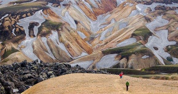 Laugavegur Trail, Iceland Nicram Sabod, Shutterstock