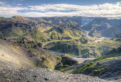 Thorsmork in Iceland by Peter Wemmert, Shutterstock
