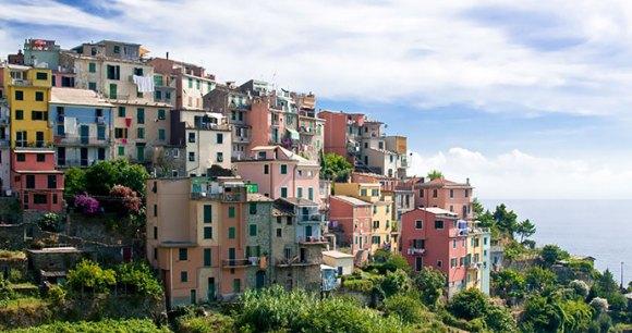 Corniglia Liguria Italy by  infografick Shutterstock