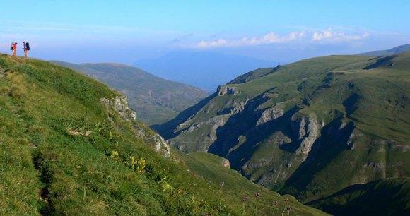 Gorge, Sar Mountains, Kosovo by Daniel Sevcik