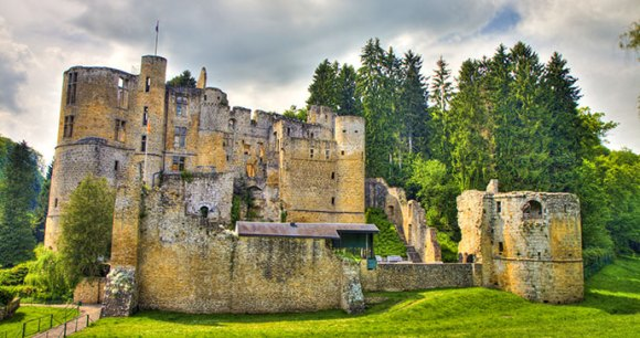 Beaufort Castle, Luxembourg, gevision, shutterstock