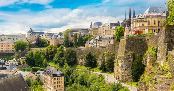 Luxembourg City Luxembourg by © s-f, Shutterstock